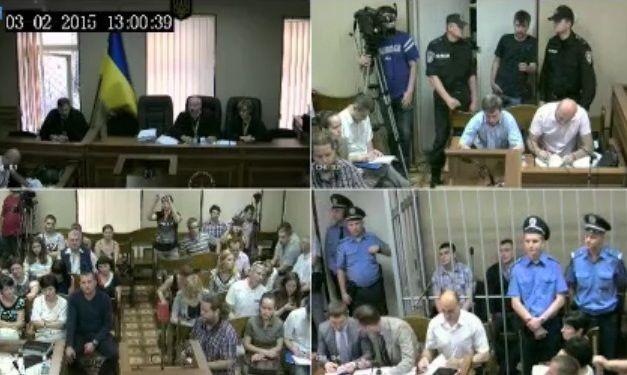 В Киеве суд перенес рассмотрение дела экс-беркутовцев