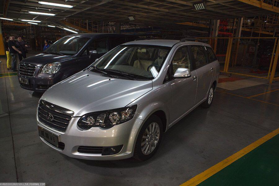 Как собирают китайские автомобили Chery