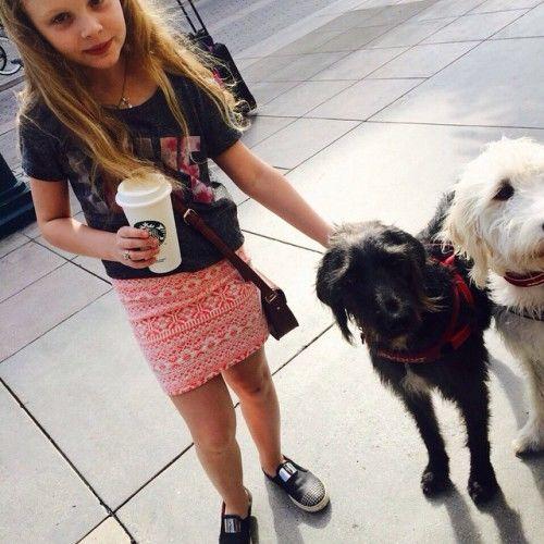 Ольга Фреймут устроила дочке каникулы в Лос-Анджелесе
