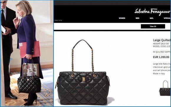 Вид на миллион: жена Луценко собрала коллекцию дорогущих сумок