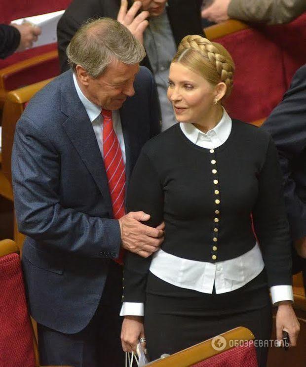 Пластический хирург раскрыл тайну декольте Тимошенко