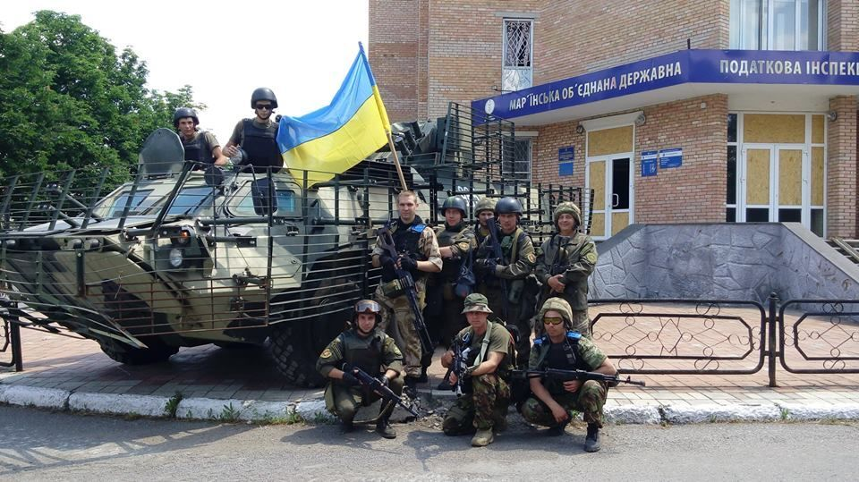 Марьинка украинская: опубликованы фото и видео отвоеванного города