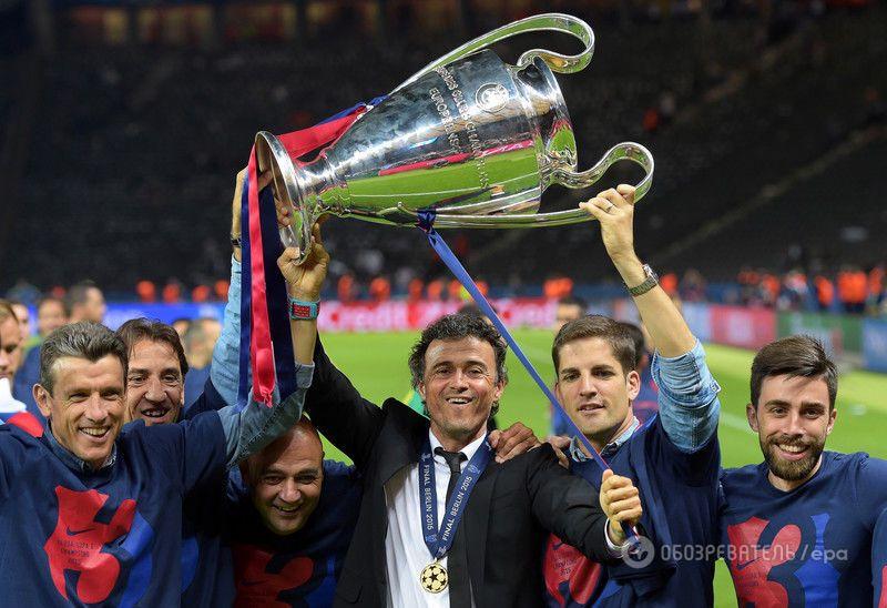 """""""Барселона"""" - победитель Лиги чемпионов: фото и видео награждения"""