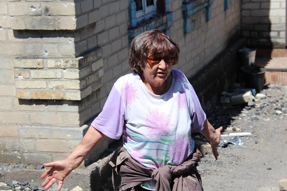 Раненая Марьинка. Украинский город возвращается к жизни