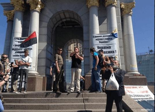 Дежавю? На Майдане разбили палатки и объявили голодовку