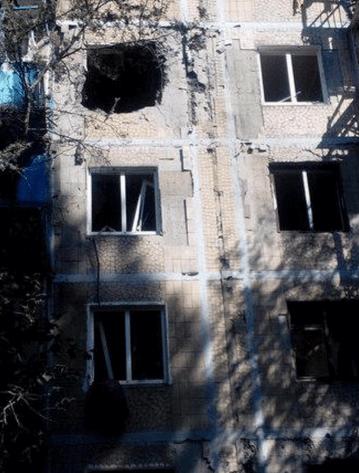 Атака террористов на Горловку: разрушены 10 жилых домов
