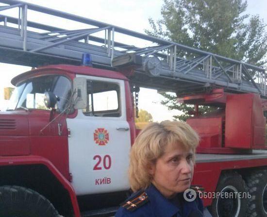 Пламя высотой с 9-этажку: опубликованы фото и видео пожара в Василькове