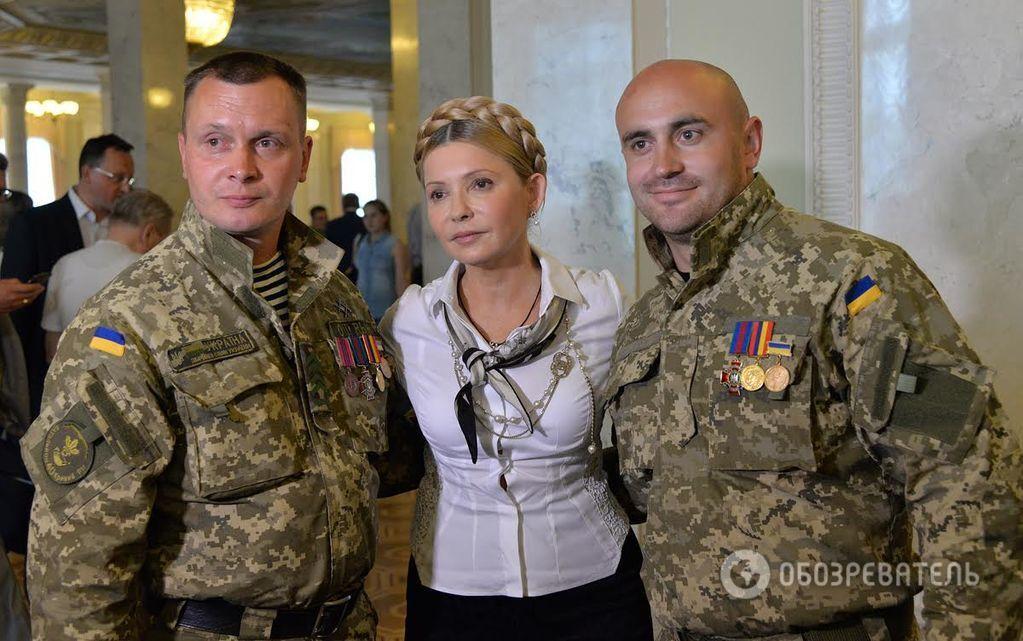 Пикантный момент: на Тимошенко в Раде чуть не разошлась рубашка