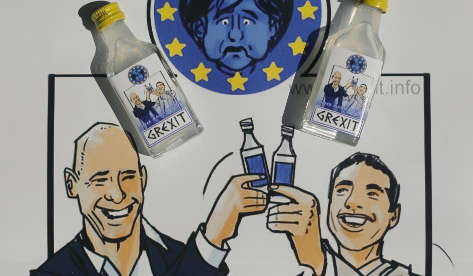 """В Германии выпустят водку """"по мотивам"""" дефолта Греции"""