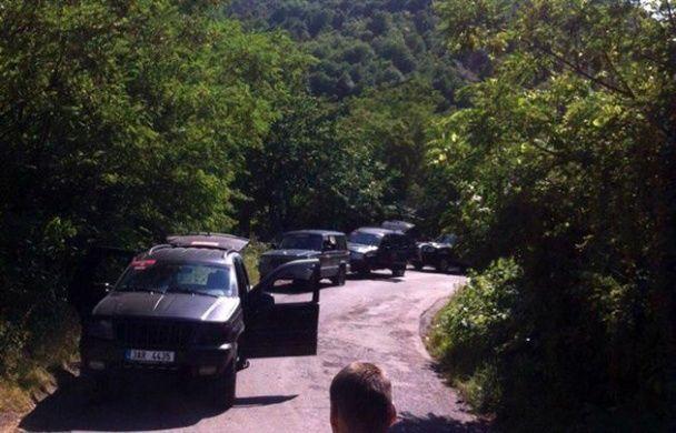 Перестрелка в Мукачево: появились новые фото с места бойни