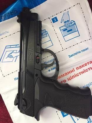 СБУ показала арсенал оружия, который нашла у людей Ланьо