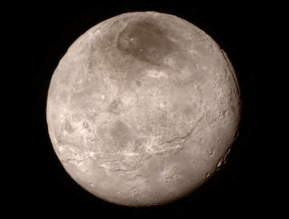 З'явився перший знімок поверхні Плутона: фотофакт