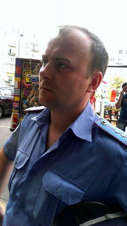 Начальнику міліції Києва поскаржилися на капітана, який матюкався на вулиці