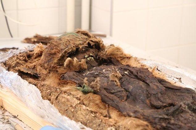 У Росії виявили мумію дитини в коконі: моторошні фото