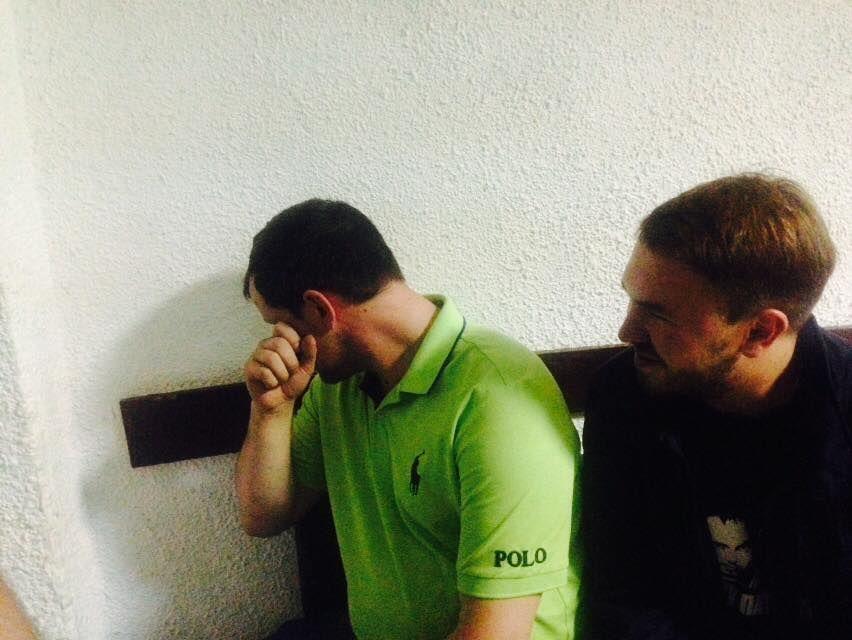 В УКРОПі розповіли подробиці затримання авто Березенка з грошима і зброєю