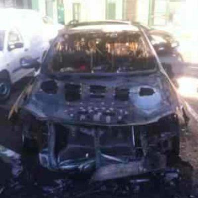 У Києві горіли п'ять автомобілів