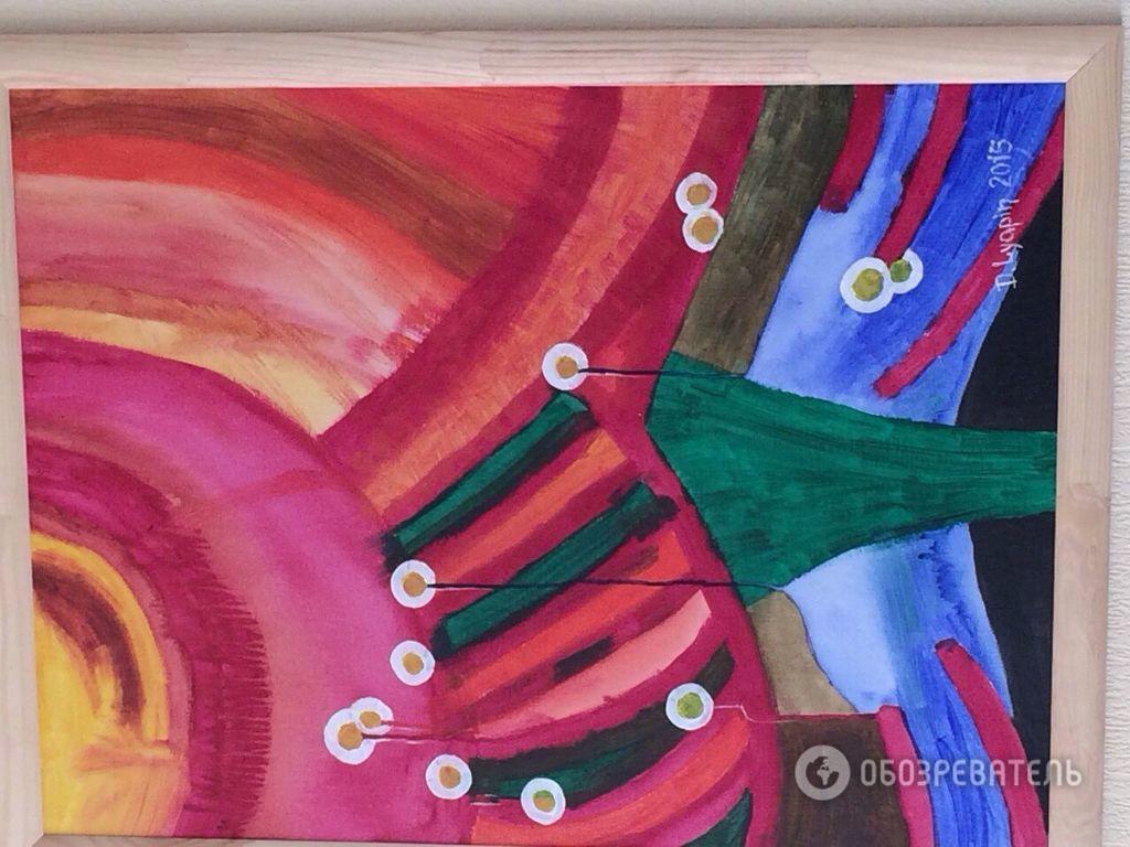 Ляпіна прикрасила своє відомство картинами загадкового однофамільця: фотофакт