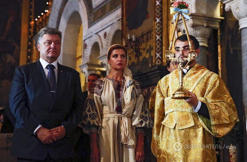 Марина Порошенко поразила старинной вышиванкой: фотофакт