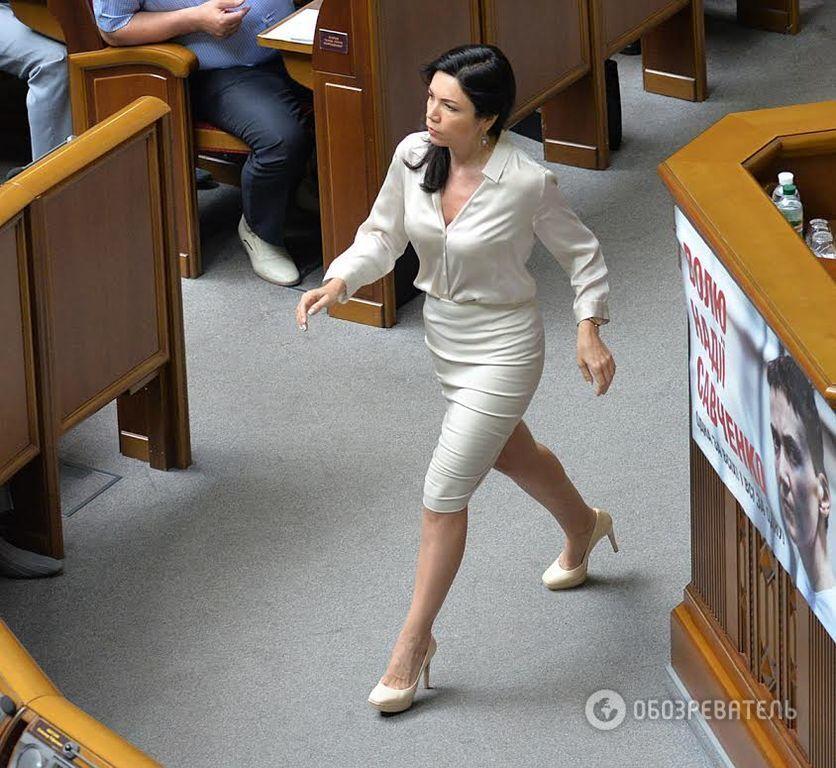 Виктория Сюмар невероятно похорошела за время депутатства