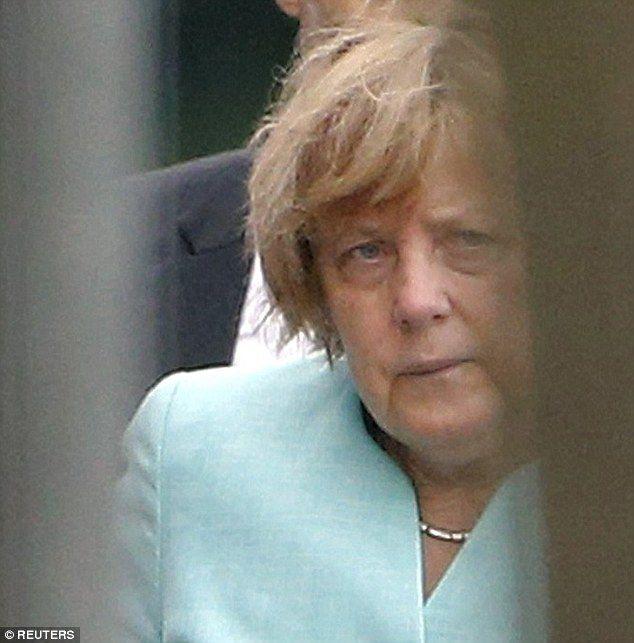 Греческий эффект: Меркель поразила неухоженным внешним видом