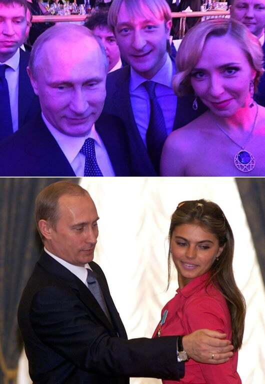 Навка против Кабаевой: чем похожи дамы Путина и Пескова