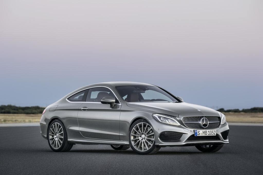 Mercedes-Benz показал новое купе C-class: фото и видео новинки