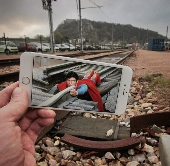 """Телефон помог """"внедрить"""" в жизнь кино и мультгероев современности"""