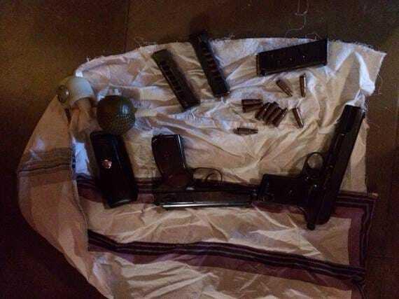 В Киеве спецназ СБУ задержал пятерых россиян-террористов