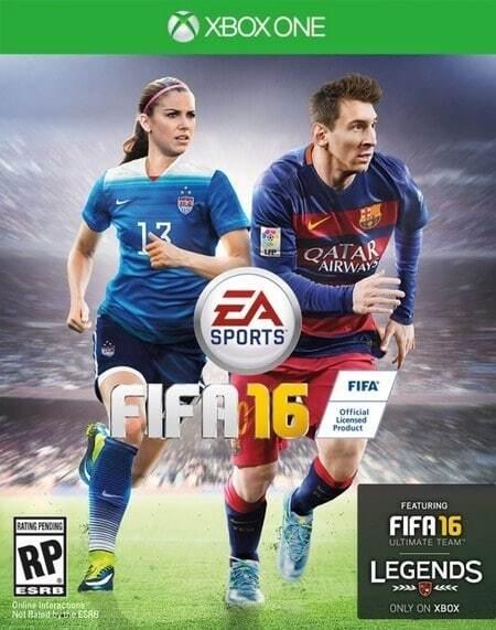На обкладинці знаменитої комп'ютерної гри з'явиться найсексуальніша футболістка світу