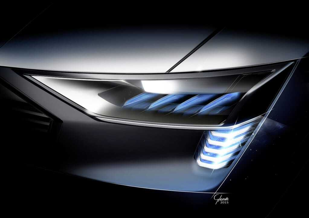 Audi показала, как будет выглядеть ее электрический внедорожник