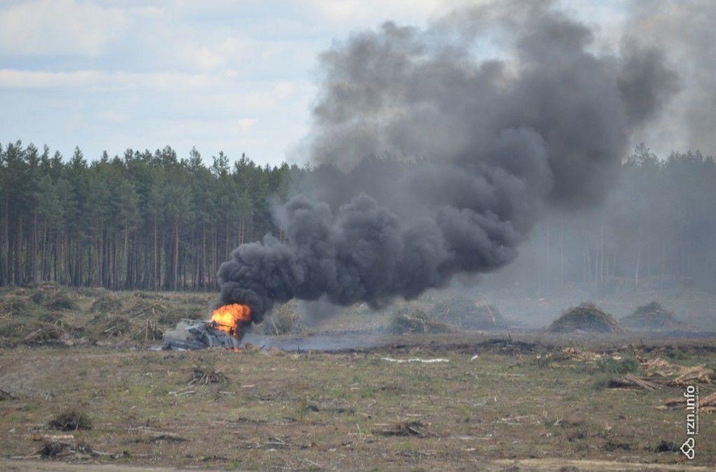 В России во время авиашоу рухнул новейший боевой вертолет