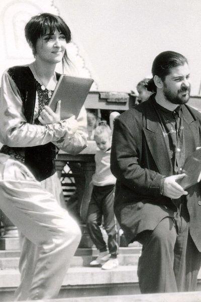 """В конце 80-х-начале 90-х Лолита и Цекало были вместе и в жизни, и на сцене - их кабаре-дуэт """"Академия"""" был очень популярен"""