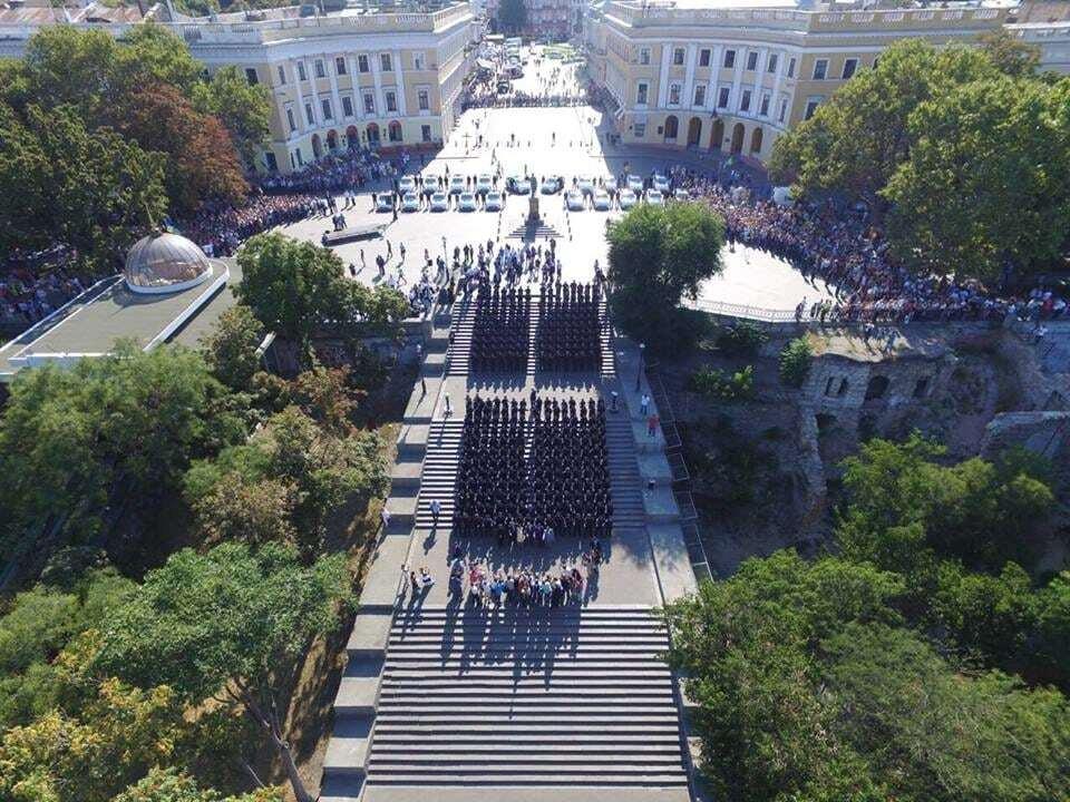 В Одессе презентовали патрульную полицию. Фотофакт