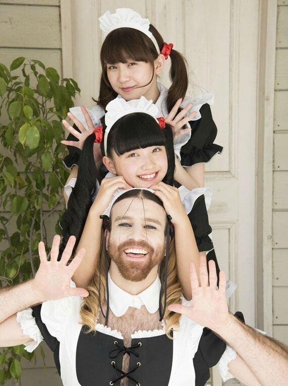 Бородатый рокер в женских платьях стал сенсацией японского шоу-бизнеса