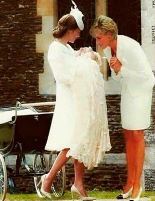 Змонтоване фото принцеси Діани з онукою викликало скандал