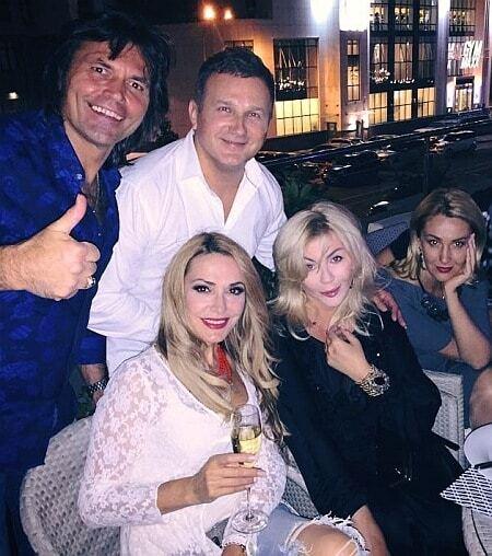 Горбунов бурно отметил 45-летие с Билык, Кароль и киевскими копами