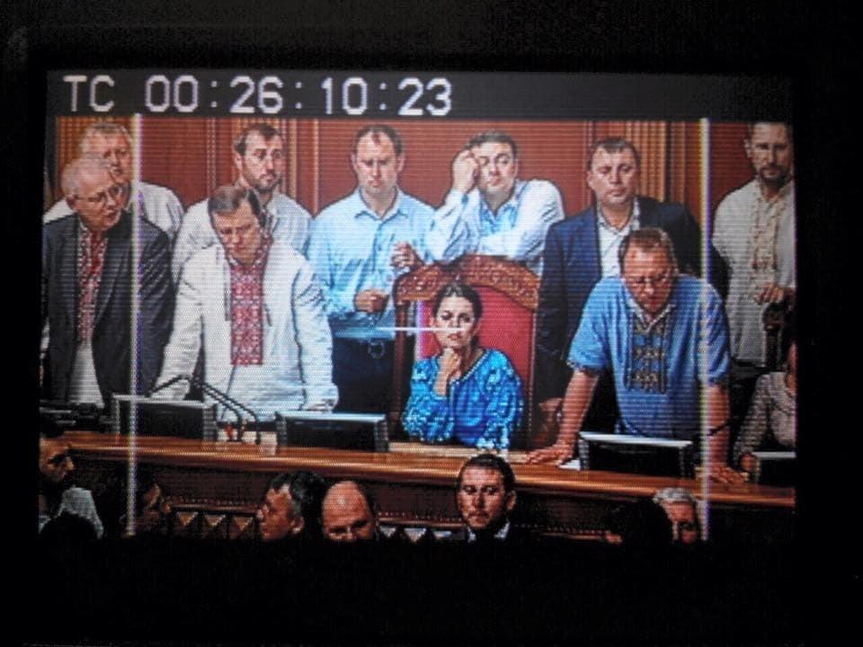 """""""Радикалка"""" Кошелева покрасовалась в Раде в вышиванке за 27 тыс грн: опубликованы фото"""