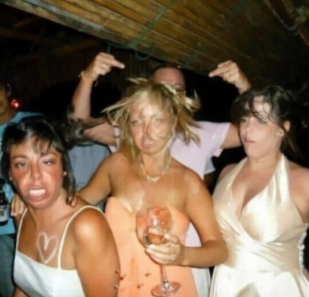 Кардинальное изменение девушек до и во время вечеринки стало хитом сети