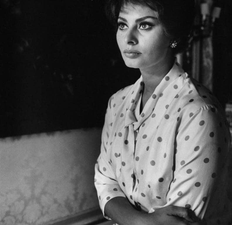 Очаровательная Софи Лорен: 10 редких фотографий самой красивой итальянской актрисы