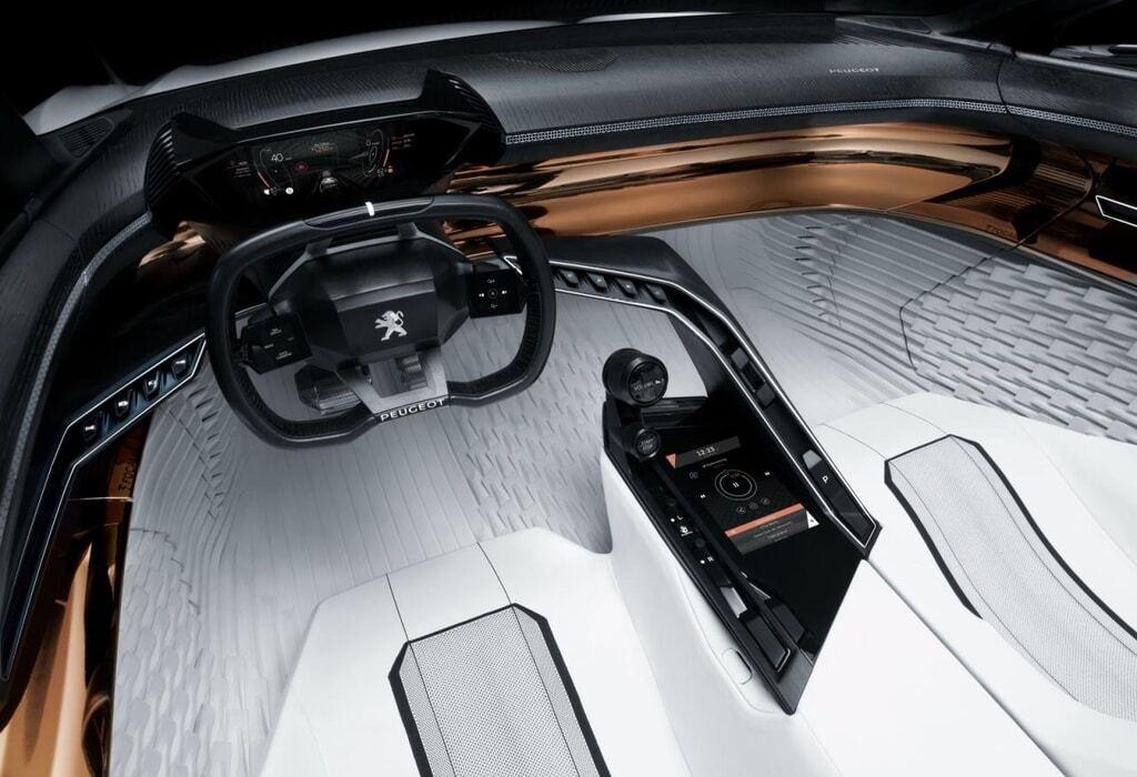 """Снесло крышу"": Peugeot представил открытый концепт-кар"