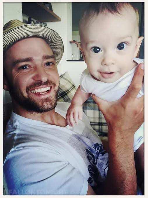 Джастин Тимберлейк показал снимки 5-месячного сына