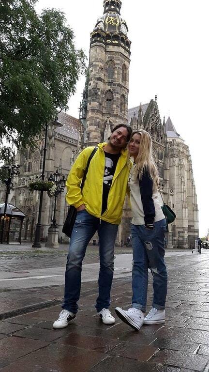 Вернулся: Притула показал фото со свадебного путешествия