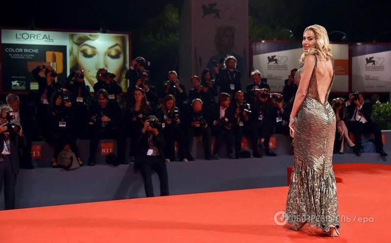 48-летння итальянская актриса произвела фурор на Венецианском кинофестивале