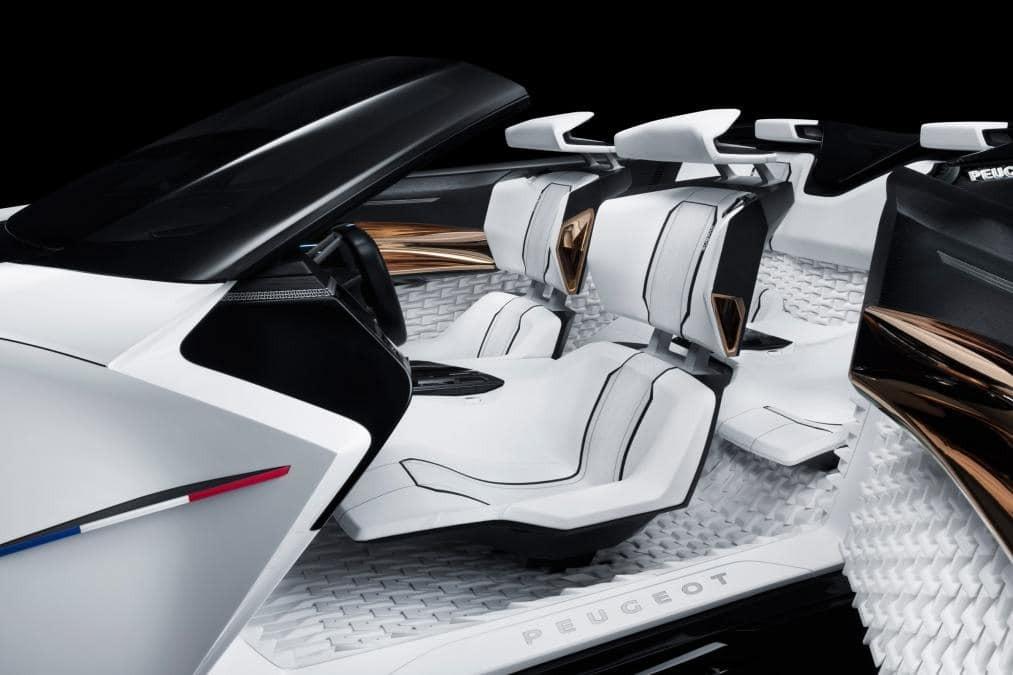 Франкфуртський автосалон: Peugeot вразив незвичайним 3D кабріолетом