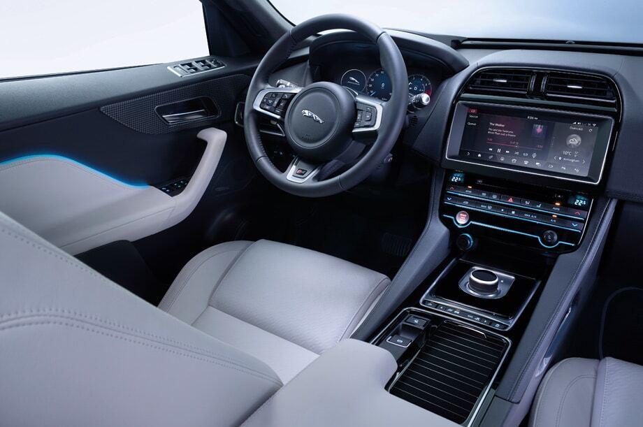 """Франкфуртский автосалон: Jaguar презентовал """"развлекательный"""" внедорожник"""