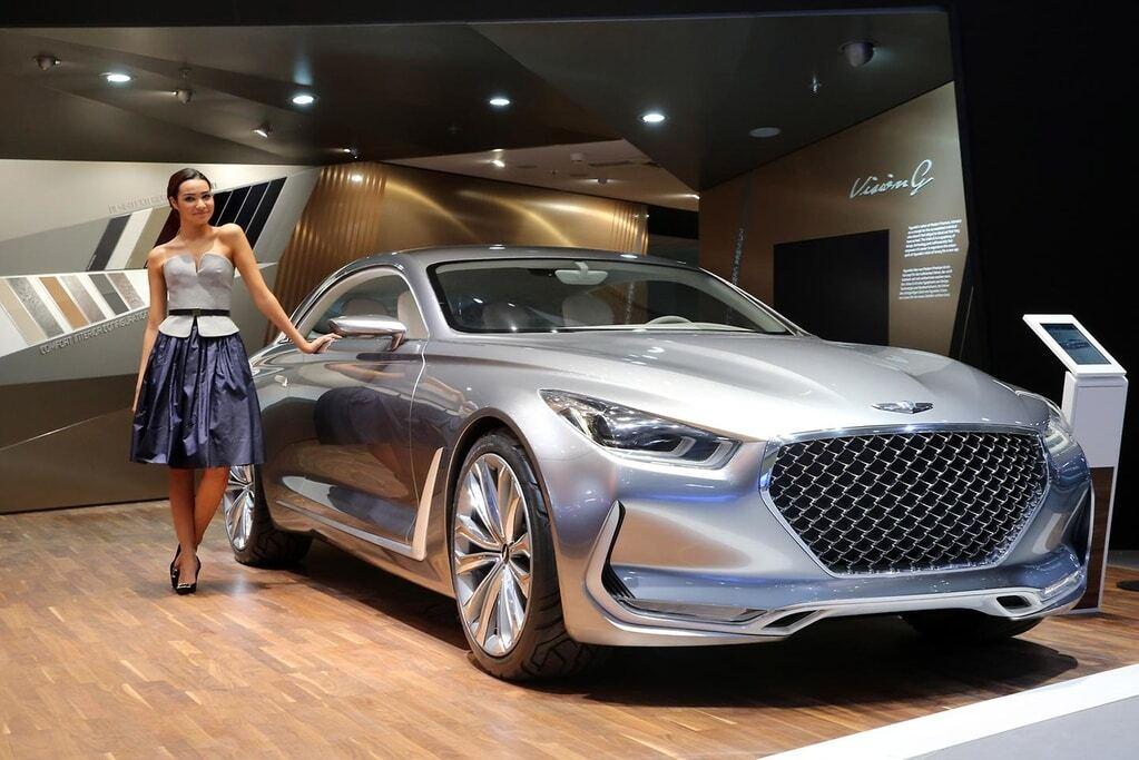 Франкфуртський автосалон: Hyundai замахнувся на лаври Mercedes
