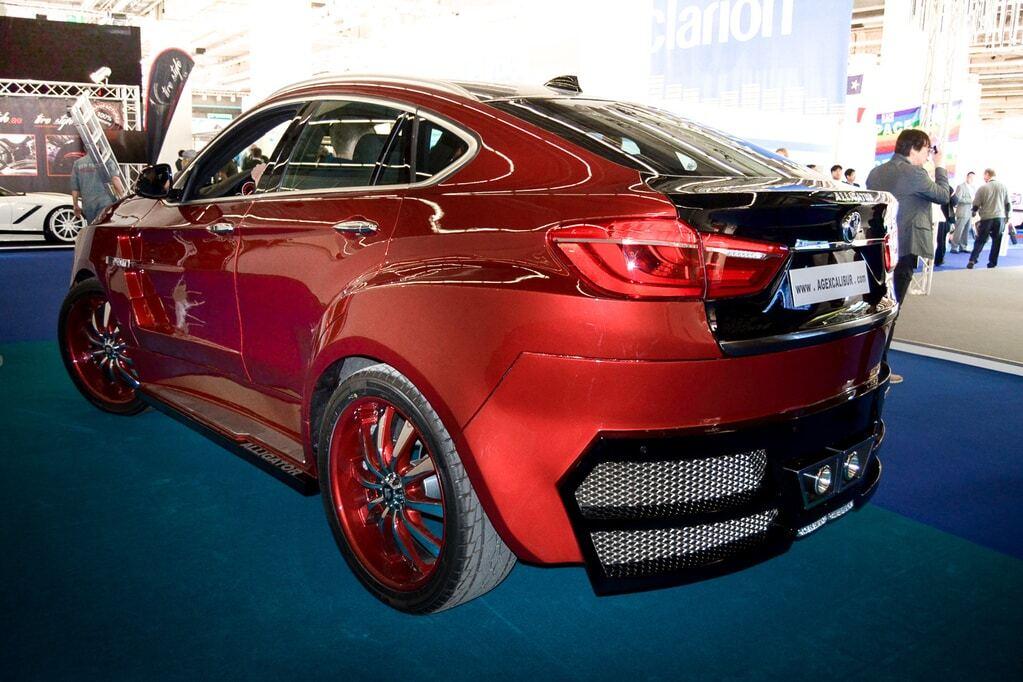 """Франкфуртський автосалон: """"страхітливий монстр"""" X6 Alligator від BMW"""