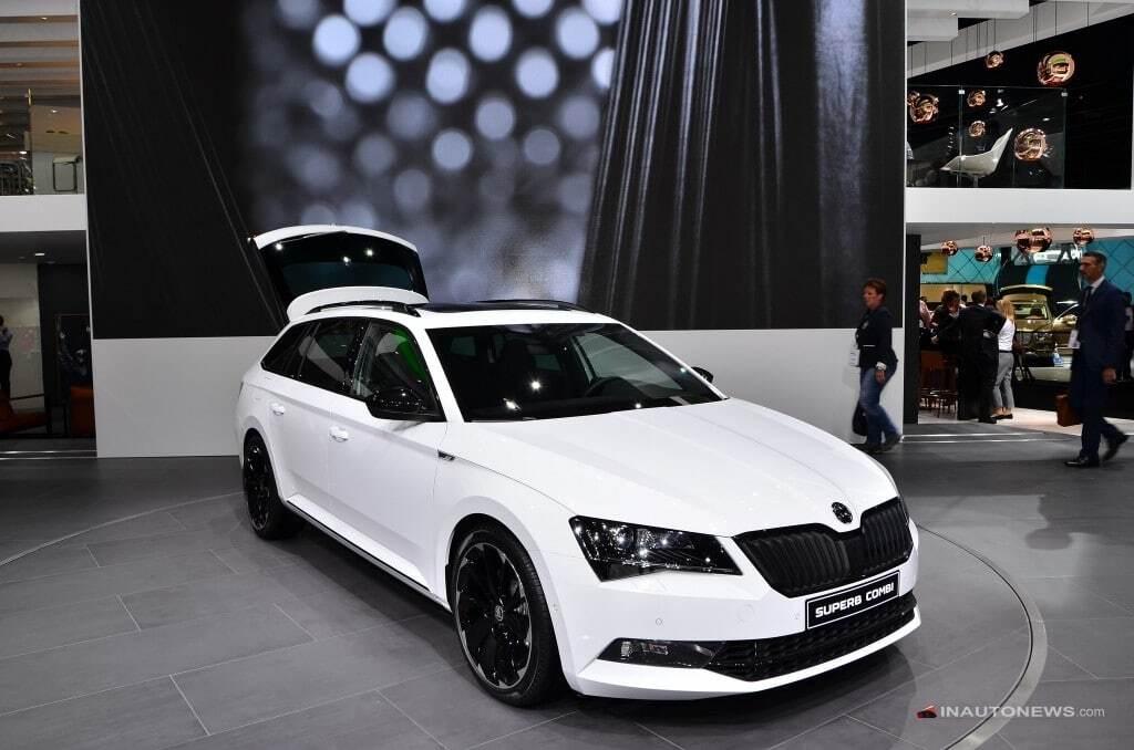 Франкфуртський автосалон: Skoda представила спортивний універсал