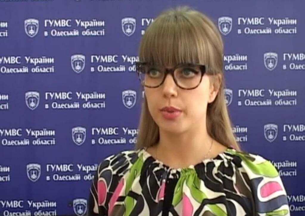 Луганчанка-фотомодель стала пресс-секретарем одесской милиции