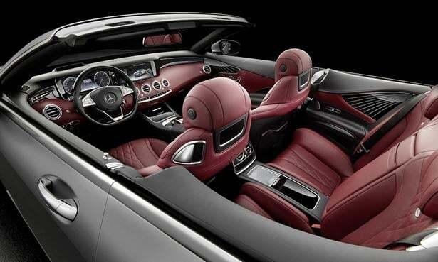Самый дорогой кабриолет Mercedes-Benz предстал во всей красе